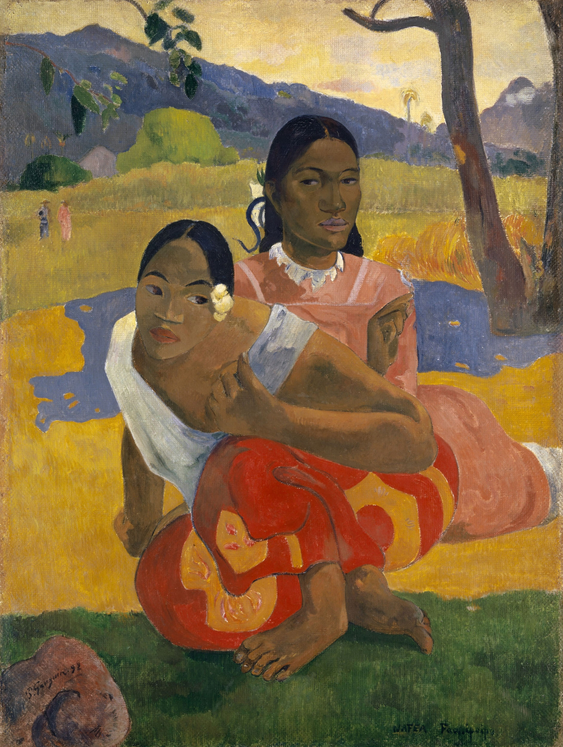 When Will You Marry?, Paul Gauguin. 1892, oil on canvas.