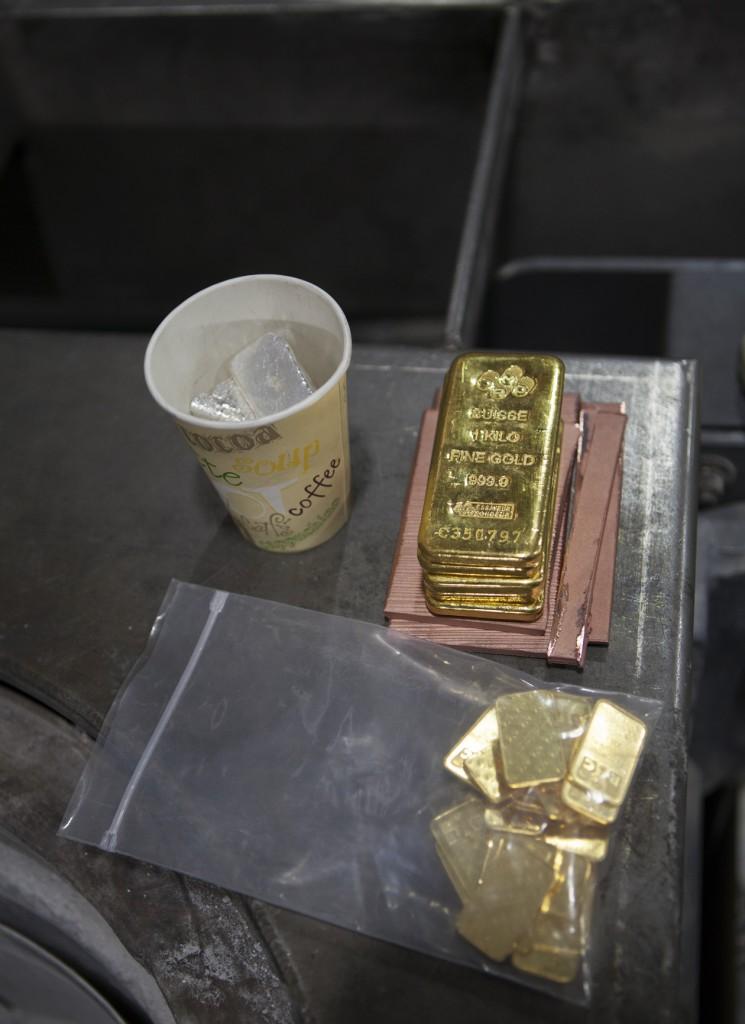 Guldtackorna som köptes för arvet