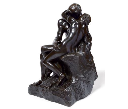 Auguste Rodin (1840-1917) Le Baiser, deuxième réduction