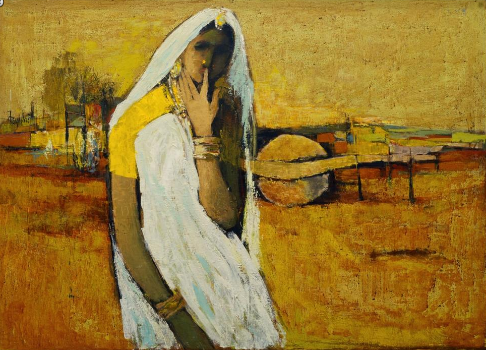 Arup Das (1927-2004) Untitled En vente chez Roseberys