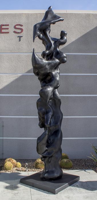 Bronsskulptur av amerikanen Herb Alpert
