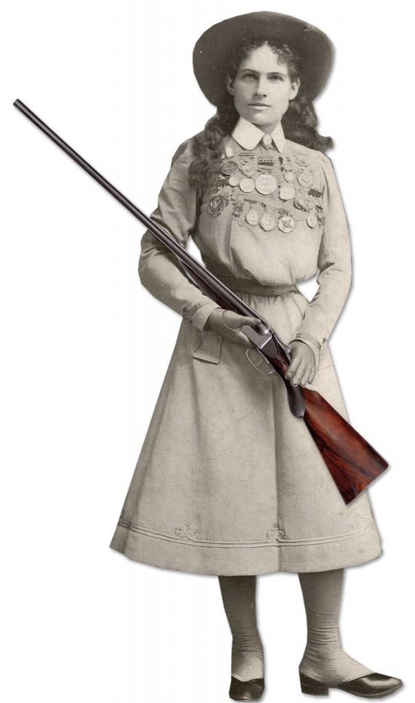 Annie Oakley's shotgun