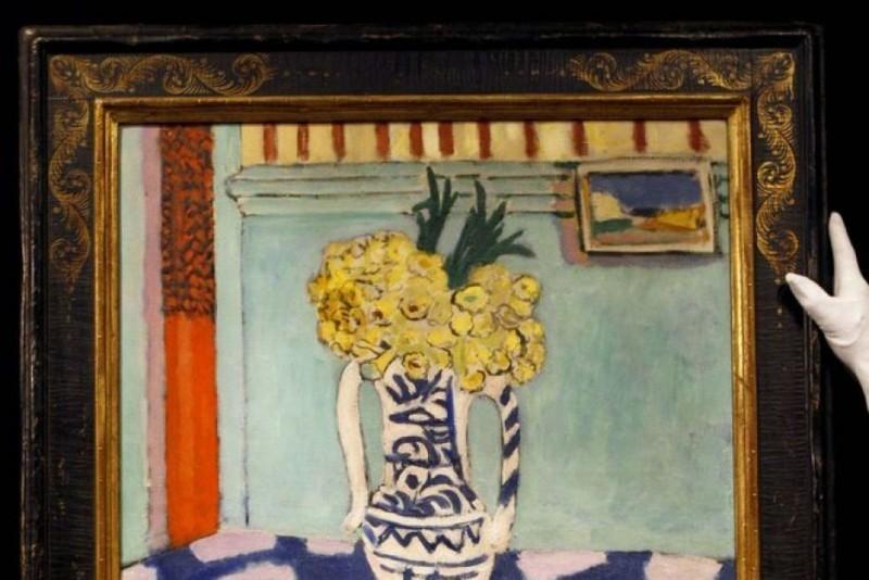 Henri Matisse, Les coucous, tapis bleu et rose (1911)