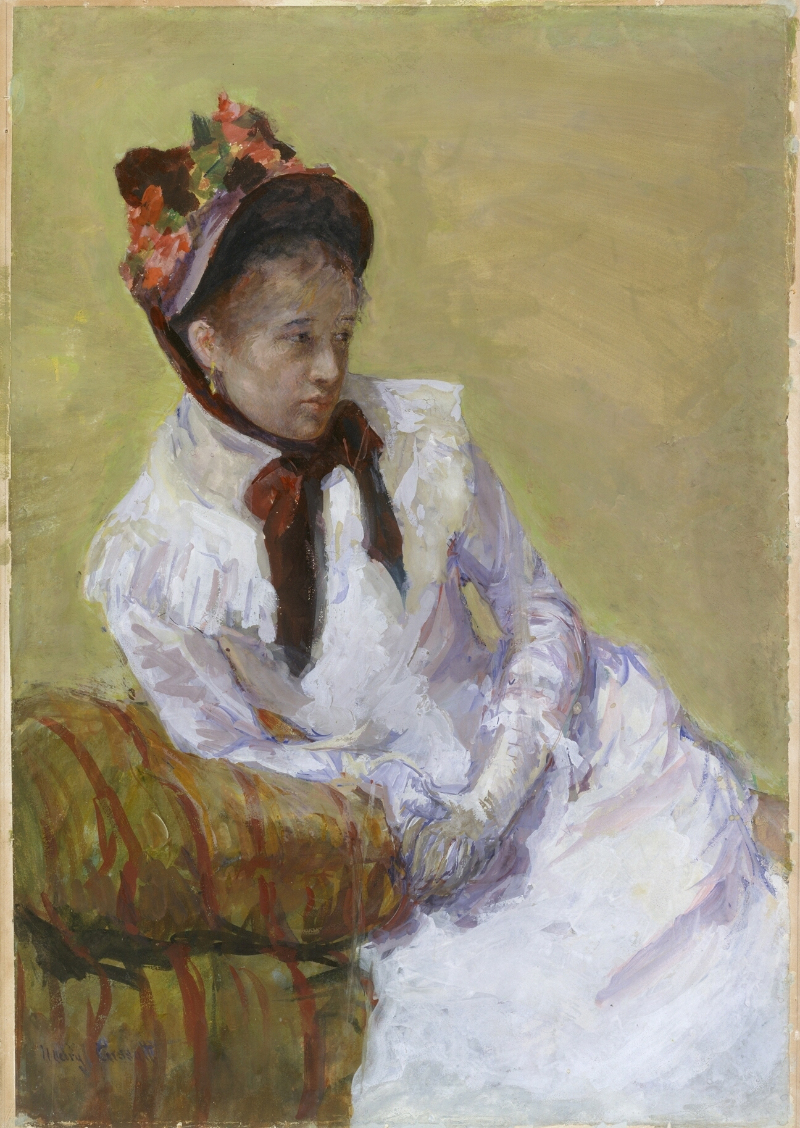 Mary Cassatt, självporträtt (1878) Foto: Wikiwand.com