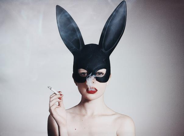 Tyler Shields, Bunny , 2015 Phillips