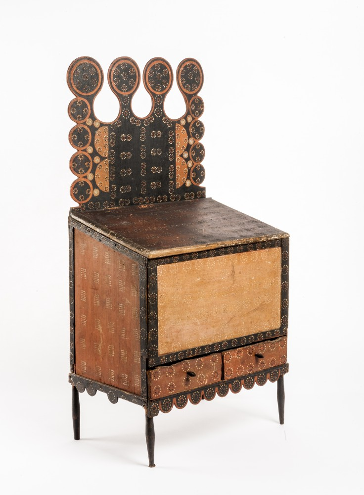 19th century sugar chest