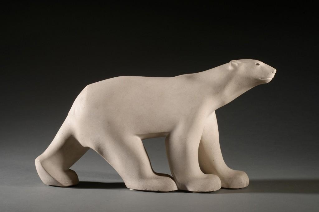 « Ours Blanc », 1927, pierre de lens
