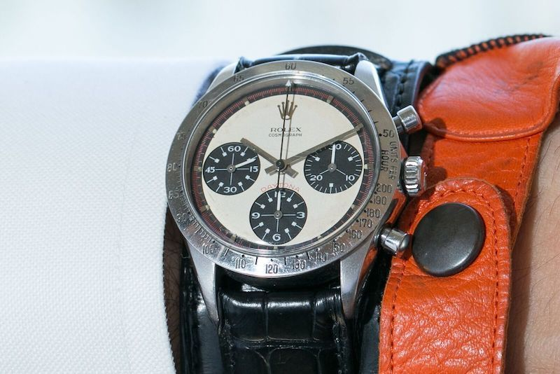 Paul Newman's legendary Rolex Daytona watch surpassed all expectations, making a new world record when it sold for $17.8 million (with commission) at Phillips, New York, on October 26, 2017
