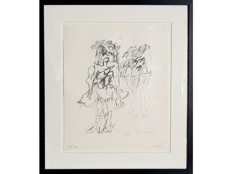 """WILLEM DE KOONING. """"Two Women"""" (1973)"""