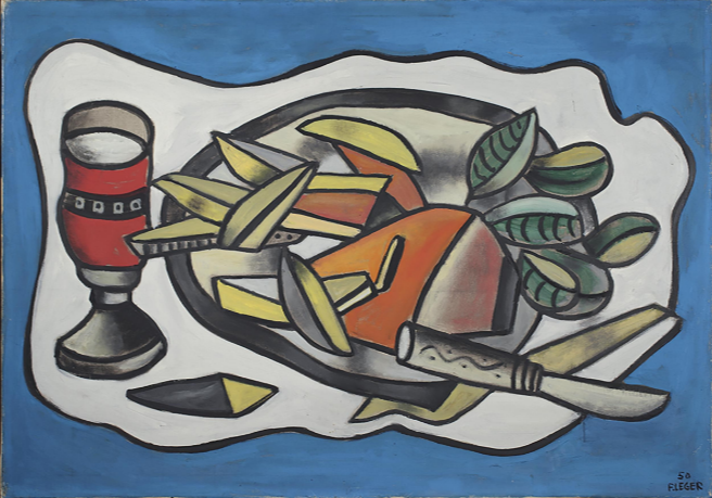 Fernand Léger, Nature morte au couteau, 1950