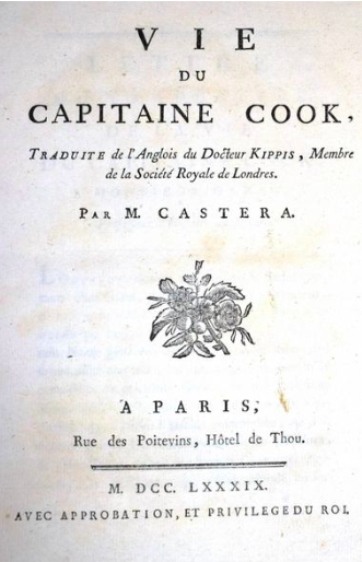 The Life of Captain Cook, Andrew Kippis. 1789