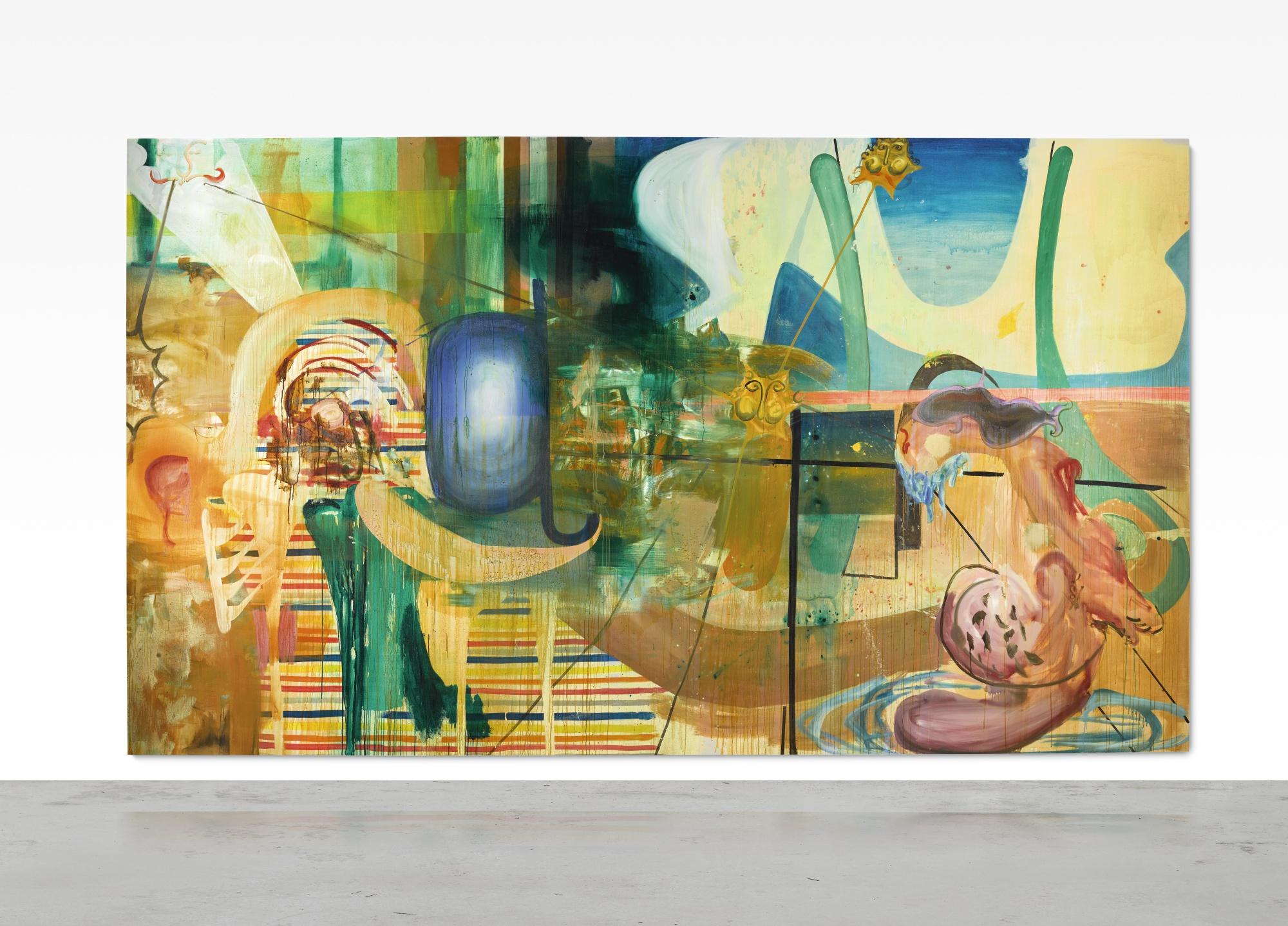 Albert Oehlen, Die Badenden, 1999. Verkauft bei Sotheby's für 2,30 Millionen GBP | Foto: Sotheby's