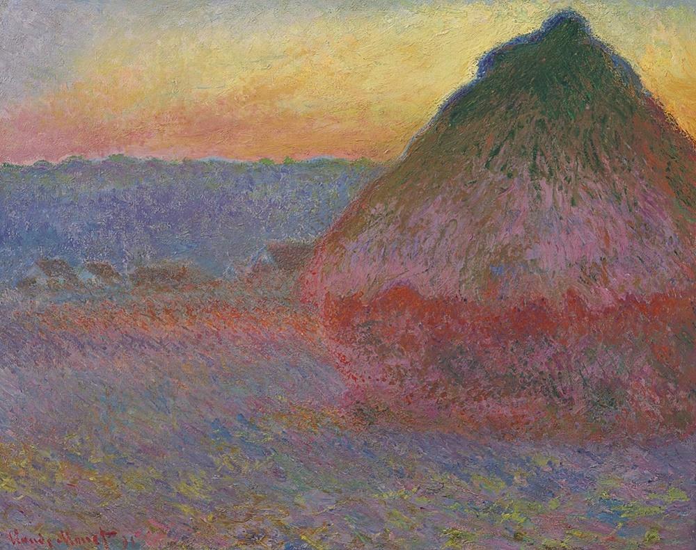 Claude Monet, Meule (1891) Courtesy Christie's Images Ltd