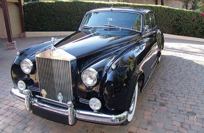 Rolls-Royce Silver Cloud I 1957 Image via Monte Carlo Sun Auctions