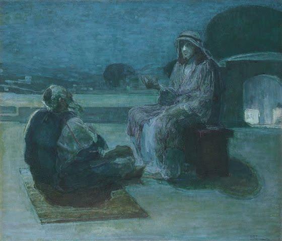 Nicodemus Coming to Christ Henry Ossawa Tanner