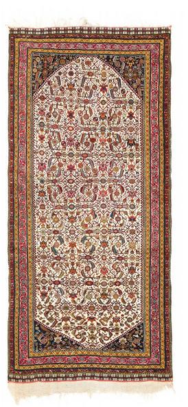 Kaschkuli Khan Teppich, Wolle/Seide, 300 x 140 cm, Persien, Mitte 19. Jhdt. Schätzpreis: 25.000 - 35.000 EUR