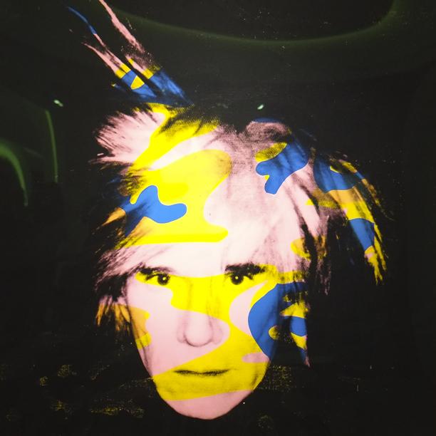 Andy Warhol at Van de Weghe, Stand 502.