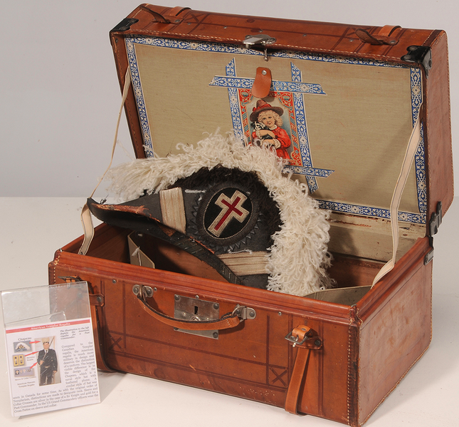 Chapeau Templar Regalia Brunk Auctions Estimation basse: 180 €