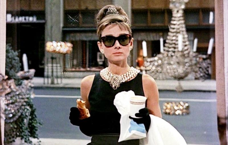 """Audrey Hepburn en """"Desayuno con diamantes"""" de 1961"""