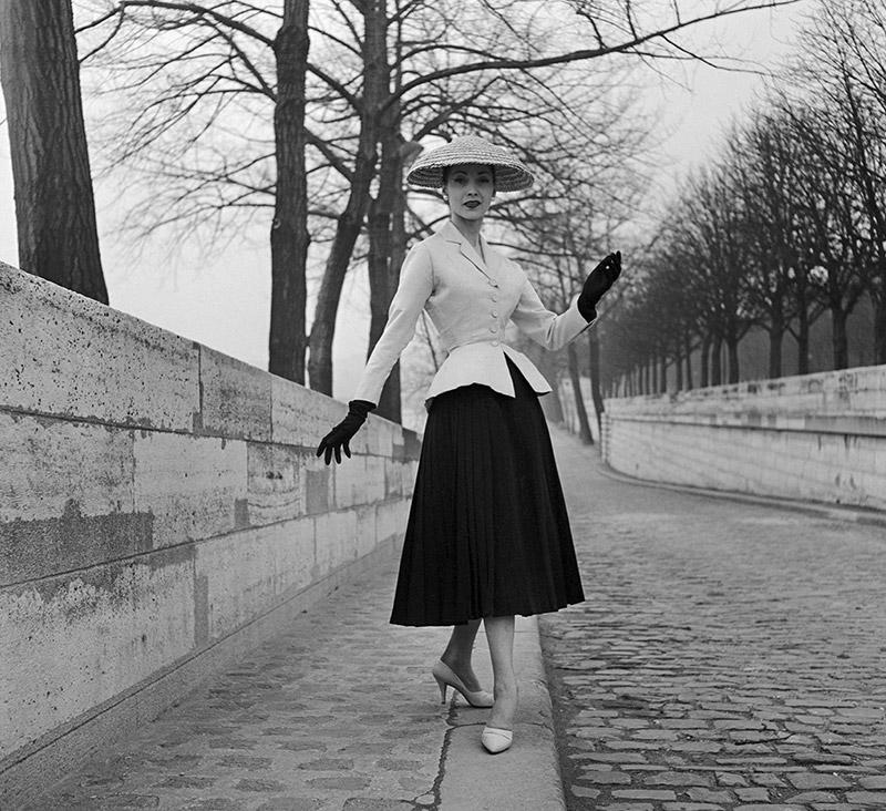 Christian Dior's 'The bar jacket', 1947