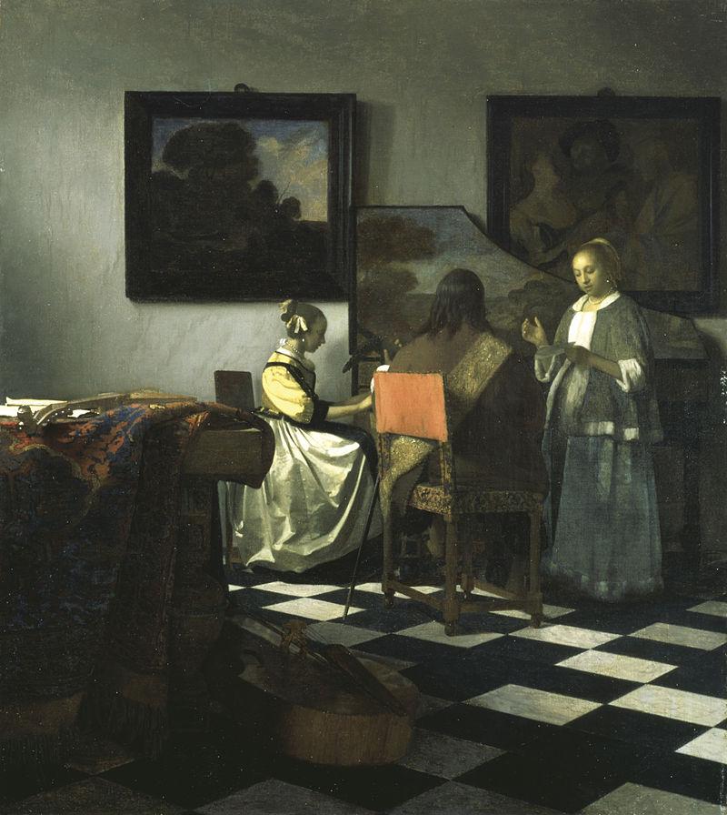 Jan Vermeer - Das Konzert, ca. 1664-66