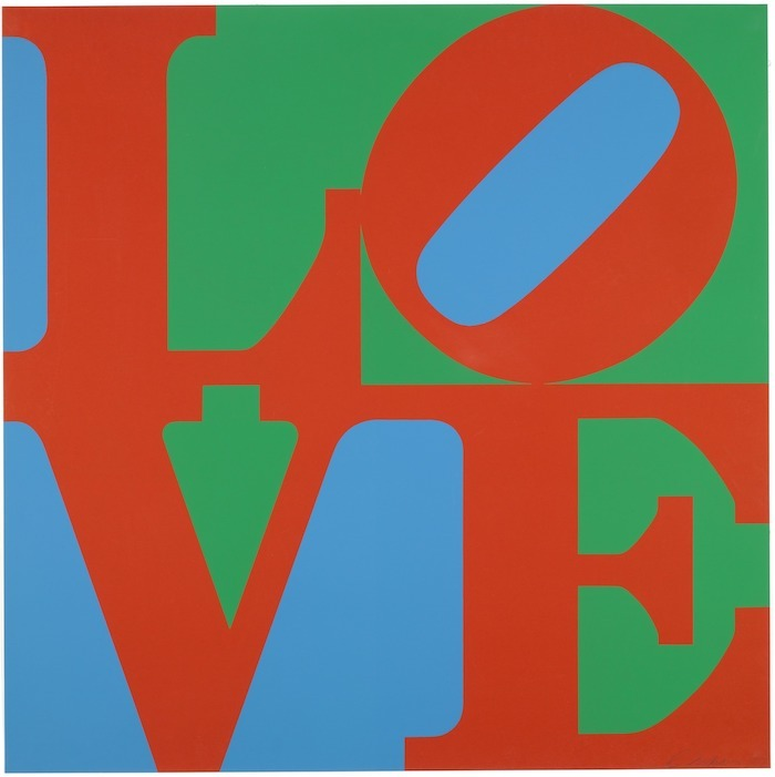 Robert Indiana, « LOVE » 1967, image ©MoMA