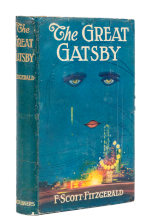 Fitzgerald (F. Scott) The Great Gatsby, first edition, first state dust-jacket, New York, 1925.Forum AuctionsEstimate: Fitzgerald (F. Scott) The Great Gatsby, first edition, first state dust-jacket, New York, 1925.Forum AuctionsEstimate: £25 000 - 35 000