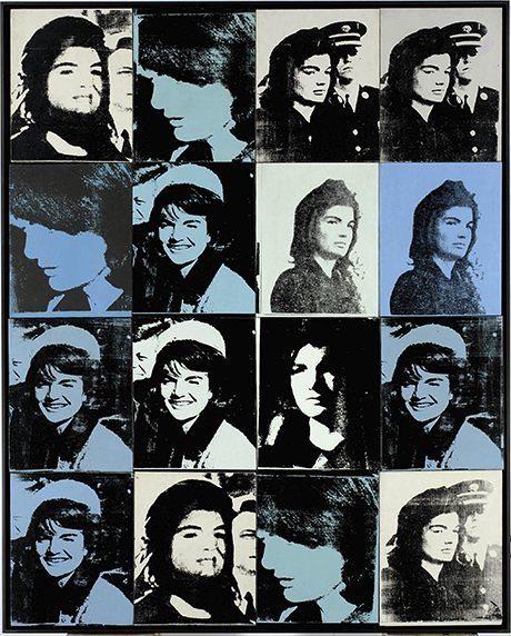 ANDY WARHOL. 16 Jackies. (1964)
