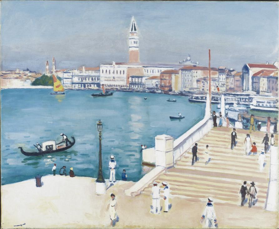 Albert Marquet Huile sur toile Signée en bas à gauche