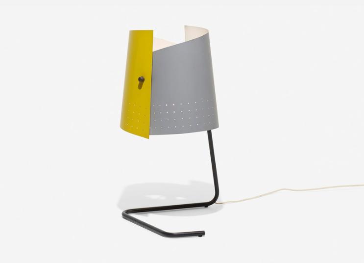 Lester Geis T-5-G bordslampa. Utrop: 57 000 SEK