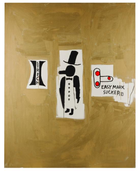 Jean-Michel Basquiat, Trophy, 1984