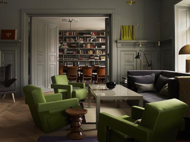 Interiör från prisbelönta Ett hem i Stockholm