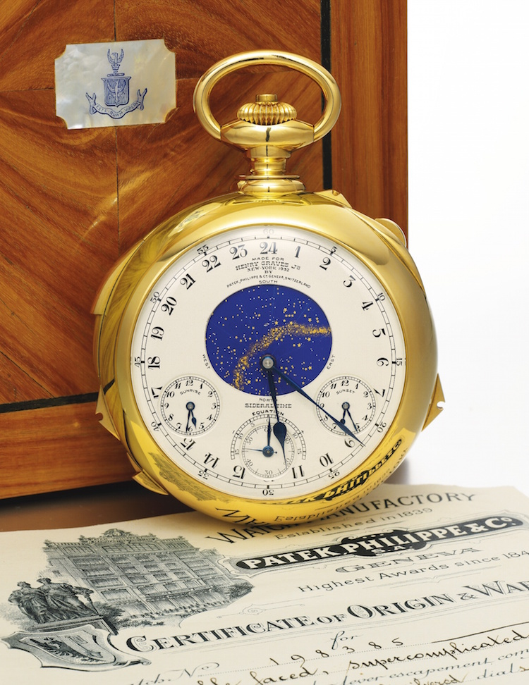 The Henry Graves Supercomplication. Photo via Sotheby's