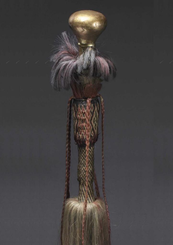 Bunchuk otomano (siglo XVII-XVIII). Precio de salida: 15.000 €