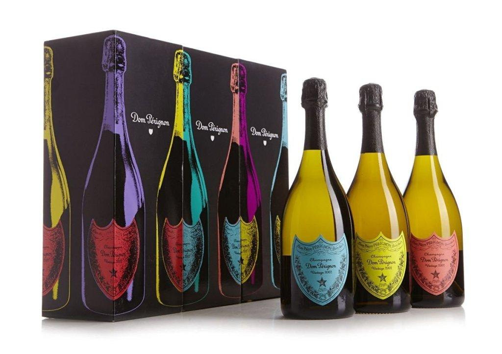 Moët & Chandon, Dom Pérignon 2002, édition limitée Andy Warhol, image d'illustration, via Luxe.net