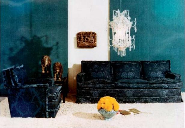 Interiör av Rafael Garcia, cirka 1970/80-tal.