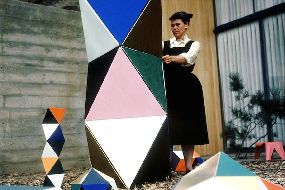 Charles and Ray Eames, The Toy, 1951. Photo: Eames Office