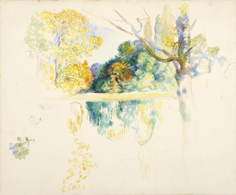 Le Lac, Pierre-Auguste Renoir