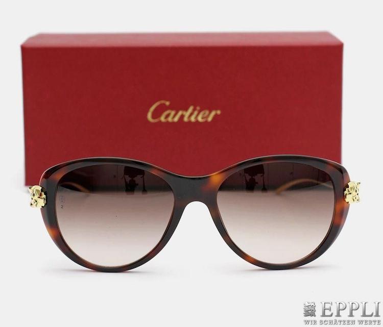 Solglasögonen från Cartier med polariserande glas ropas ut för 4 500 kronor