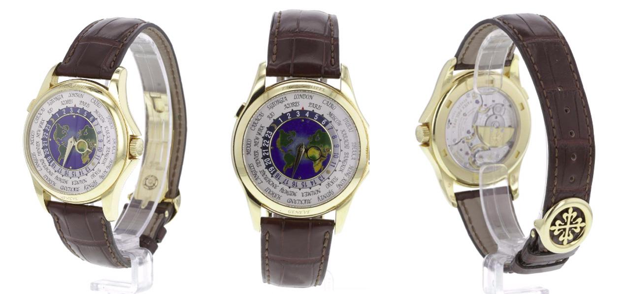World Time 5130, Patek Philippe En vente le 28 novembre chez Fellows Estimation basse: 45 000 euros