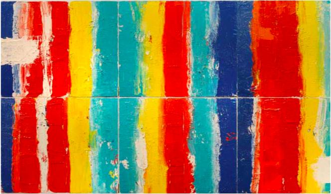 Aude Herlédan (1966-), « Colourful », 2018, ©1831ArtGallery