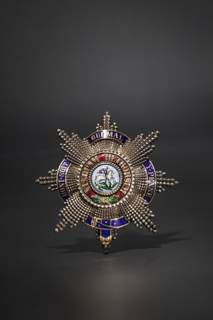 Roi George V de Hanovre - étoile à l'ordre de Saint-George, ca. 1860 Estimation: 40.000 EUR