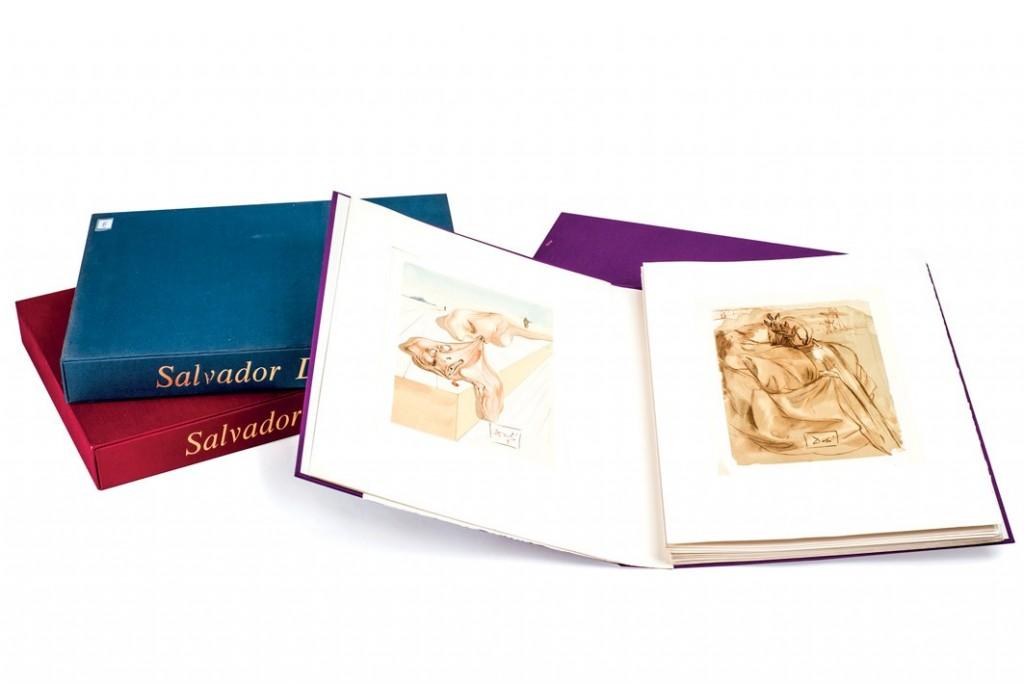 薩爾瓦多達利的但丁《神曲》100 woodcuts on paper