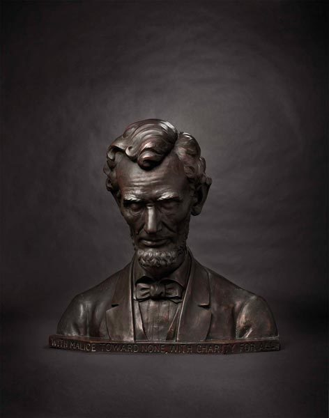Bust of Abraham Lincoln Starting bid: $13 500