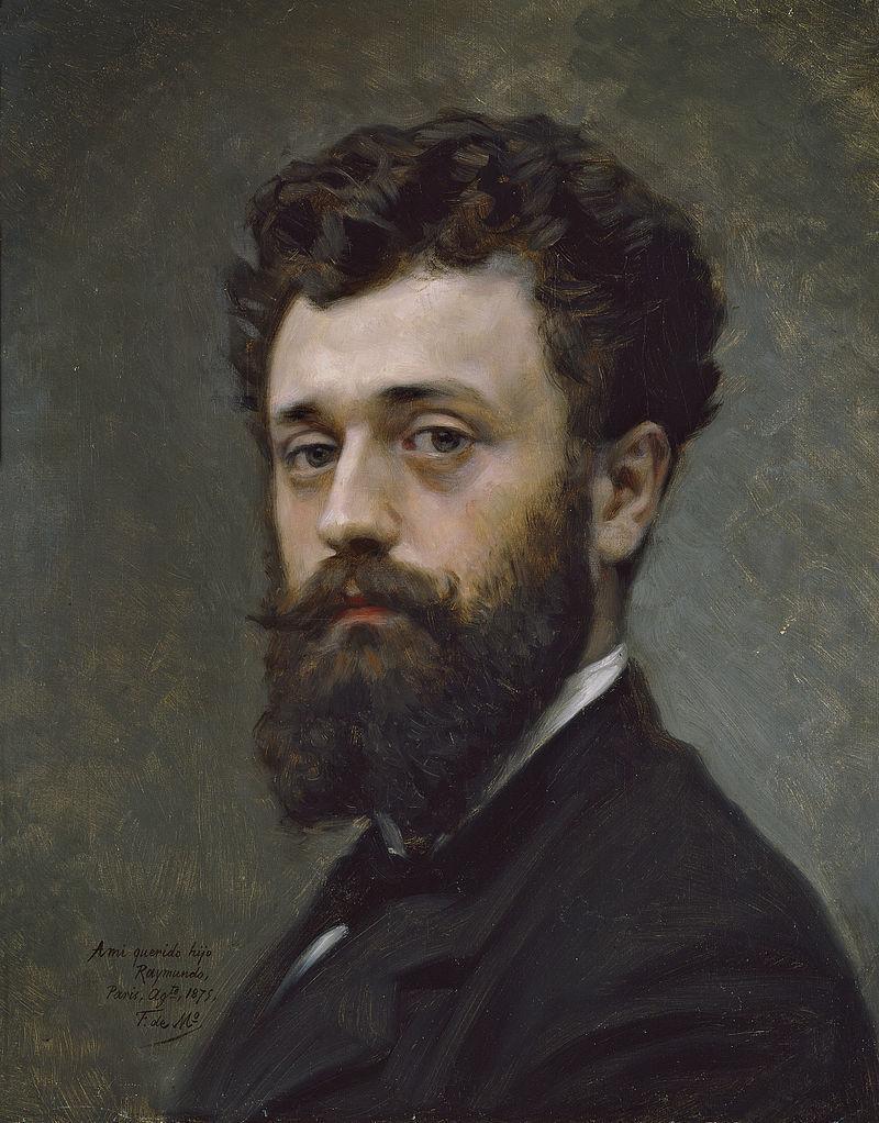 Raimundo de Madrazo painted by his father Federico de Madrazo, 1875