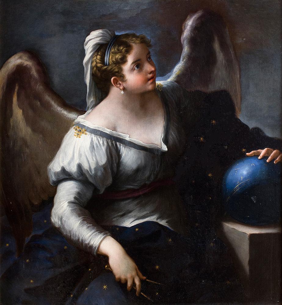 PAOLO DE MATTEIS (Piano Vetrale 1662 – Neapel 1728) - Urania, Öl/Lwd., 118x109,5 cm Schätzpreis: 40.000-60.000 EUR