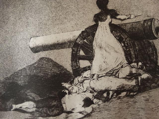 """FRANCISCO DE GOYA Y LUCIENTES. """"Los Desastres de la Guerra"""". 5ª edición (1922)"""