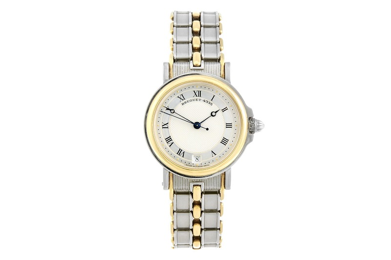 Reloj de pulsera BREGUET Classique bimetálico para caballero