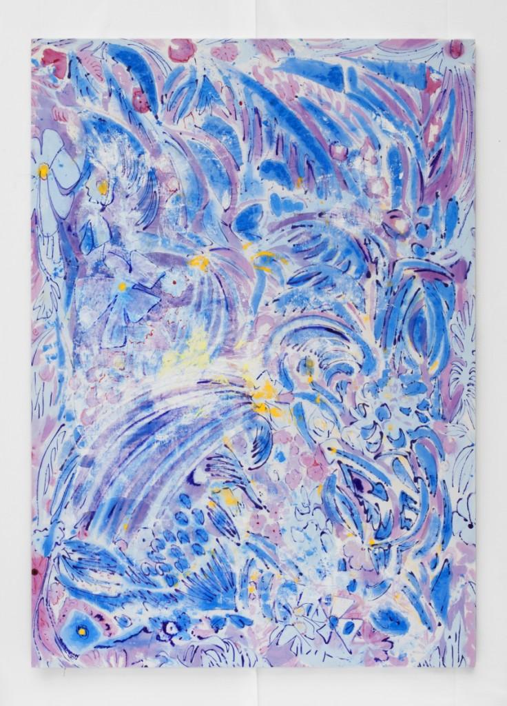 Jim Thorell, Till Eva. 2015. Acrylic on Canvas.