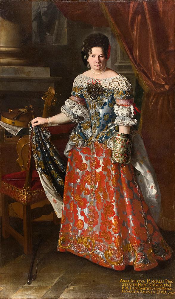 PIER FRANCESCO CITTADINI (Mailand 1613/16 - Bologna 1681) - Portrait der Livia Arconati, Öl/Lwd., 210x120 cm Schätzpreis: 50.000-70.000 EUR